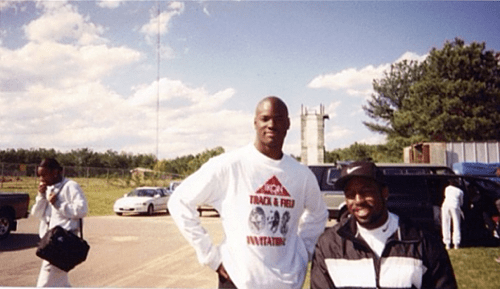 Deworski Odom Every day Deworski Odom gives back to the the sport and school that