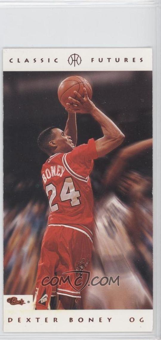Dexter Boney 1993 Classic Futures 27 Dexter Boney COMC Card Marketplace