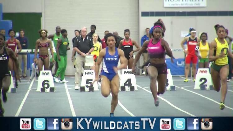 Dezerea Bryant Kentucky Wildcats TV Dezerea Bryant Ties Olympic Gold