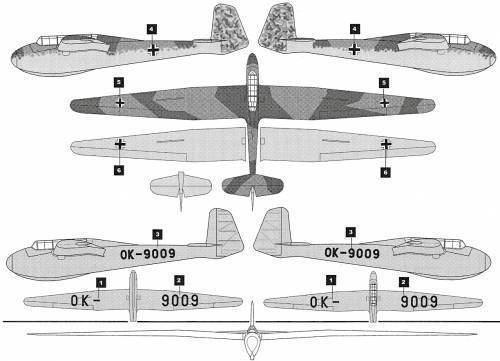 DFS Kranich TheBlueprintscom Blueprints gt Modern airplanes gt Modern D gt DFS