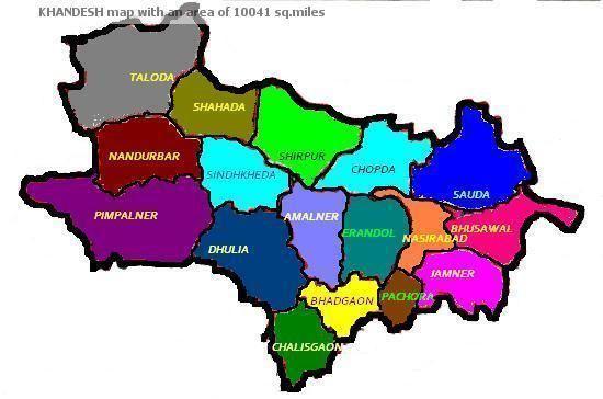 Dharangaon in the past, History of Dharangaon