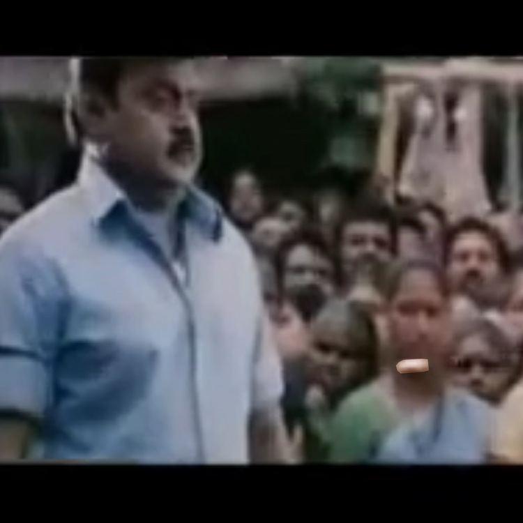 Dharmapuri (film) movie scenes Captain Vijayakanth dodging the Bullet in Dharmapuri
