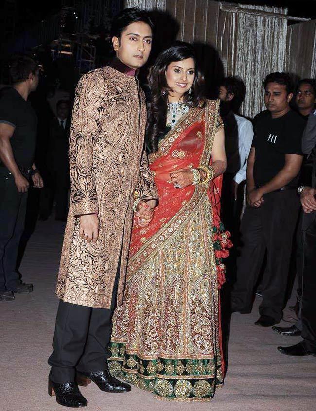 Dheeraj Deshmukh Dheeraj Deshmukh39s starry wedding reception Photo3