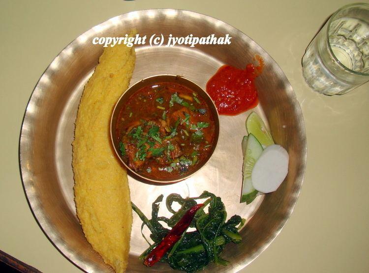 Dhindo Taste of Nepal Nepali Dhindo Cornmeal Porridge