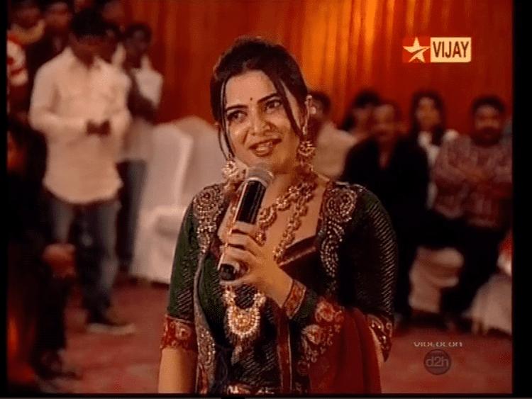 Dhivyadharshini Dhivyadharshini in Sneha Prasanna Marriage Vijay Stars
