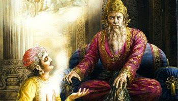 Dhritarashtra Dhritarashtra Mahabharata King of Hastinapura Hindu Devotional Blog