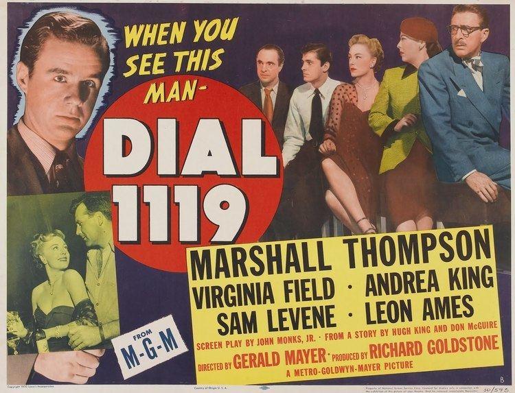 Dial 1119 Dial 1119 1950 Film Noir of the Week