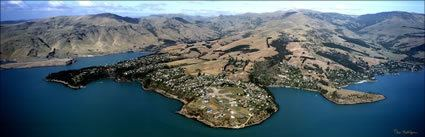 Diamond Harbour, New Zealand New Zealand Aerial Images by Peter Bellingham Photography