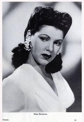 Diana Barrymore Celebrities lists image Diana Barrymore Celebs Lists
