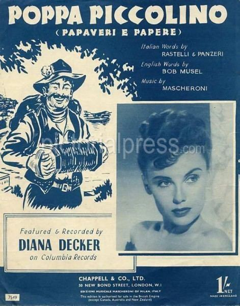 Diana Decker Diana Decker Pictorial Press Music Film TV