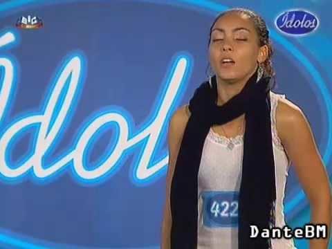 Diana Piedade Idolos 2009 Diana Piedade YouTube