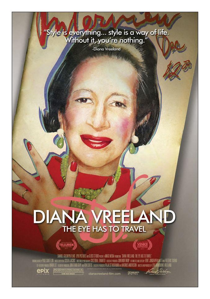 Diana Vreeland: The Eye Has to Travel Diana Vreeland The Eye Has to Travel in collaboration with MV