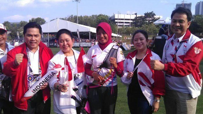 Diananda Choirunisa Bikin Bangga Diananda Choirunisa Sumbang Emas Ketiga Bagi Indonesia