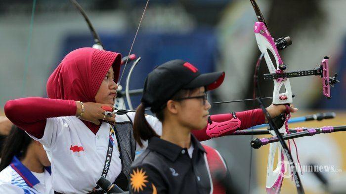 Diananda Choirunisa Panahan Indonesia Kembali Sumbang Emas Tribunnewscom