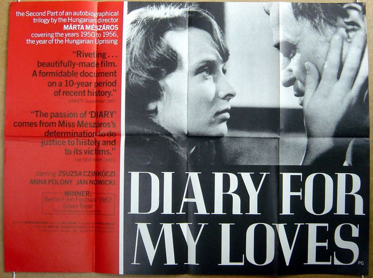 Diary for My Lovers Napl szerelmeimnek Diary for my lovers 1987 AntoSoftNet