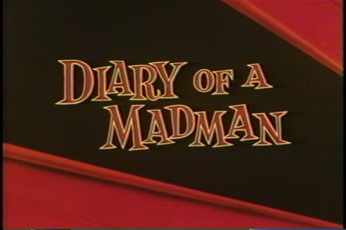 Diary of a Madman (film) movie scenes diary