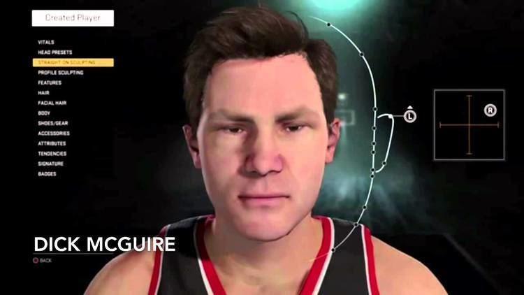 Dick McGuire NBA 2K16 How To Create Ed Macualey and Dick McGuire YouTube