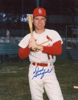 Dick Schofield Dick Schofield Memorabilia Autographed Signed