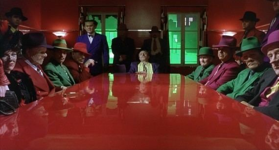 Dick Tracy (1990 film) movie scenes The aforementioned sets range from candy colored