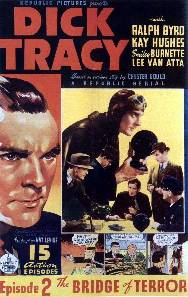 Dick Tracy (serial) Dick Tracy 1937 15 episodios Republic Dir Alan James Ray