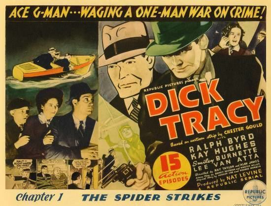 Dick Tracy (serial) Davy Crocketts Almanack of Mystery Adventure and The Wild West