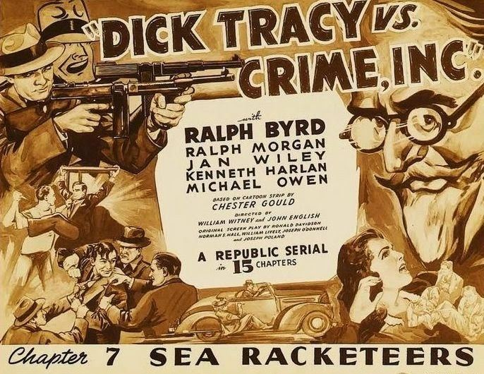 Dick Tracy vs. Crime, Inc. Thrilling Days of Yesteryear Guest Review Dick Tracy vs Crime