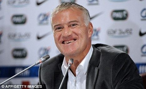 Didier Deschamps Didier Deschamps hits out at Arsene Wenger Daily Mail Online