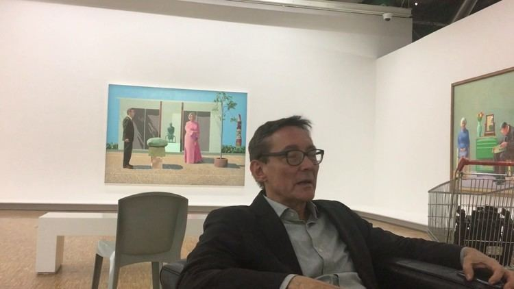Didier Ottinger Didier Ottinger about David Hockney at Centre Pompidou 2 YouTube
