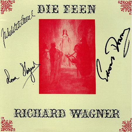 Die Feen The Durbeck Archive The Wagner Operas DIE FEEN