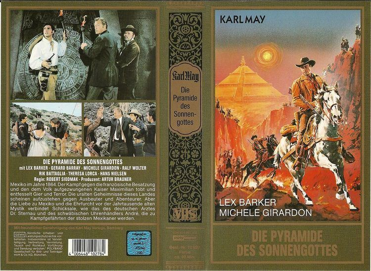 Die Pyramide des Sonnengottes VHS Die Pyramide des Sonnengottes Lex Barker Grard Barray Ralf