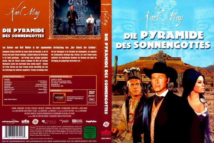 Die Pyramide des Sonnengottes Die Pyramide des Sonnengottes dvd cover 1965 R2 German
