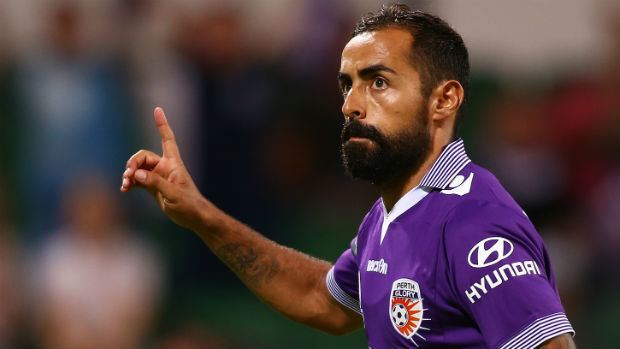 Diego Castro Pertth Glory coach relieved Diego Castro signed for Aussie