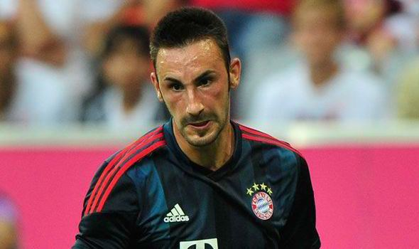 Diego Contento Liverpool deal for Bayern39s Diego Contento tied to Luiz