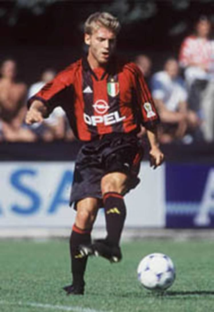 Diego De Ascentis MARCO SIMONE forward Milan football Pinterest Ac milan