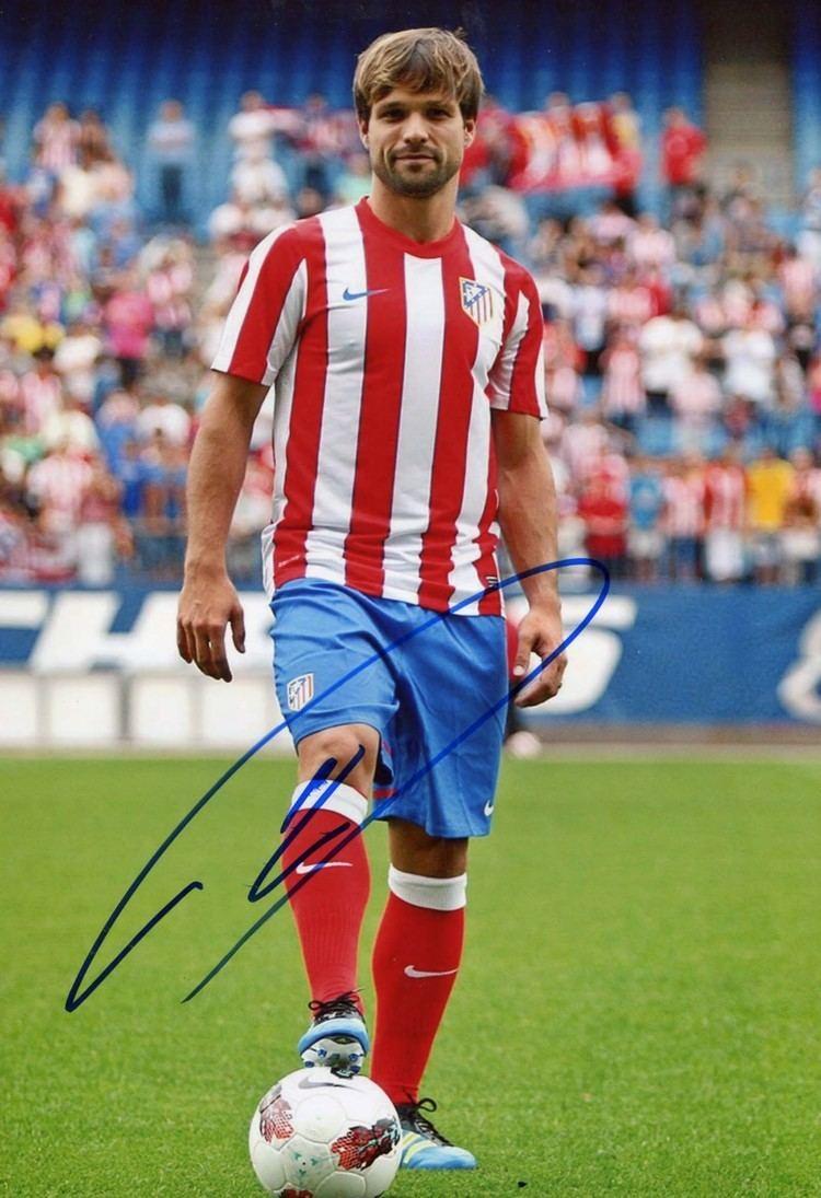 Diego (footballer, born 1985) Diego Ribas authentic Autograph