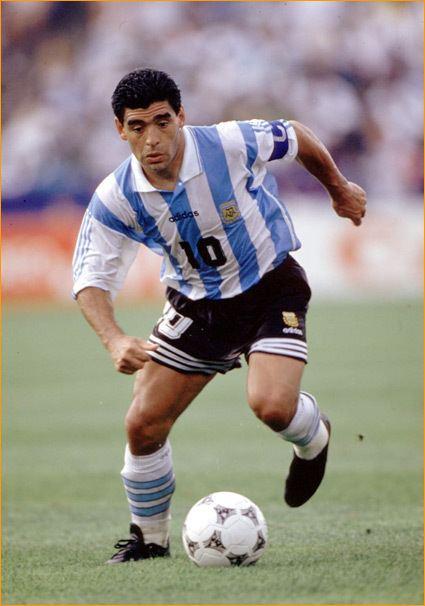 Diego Maradona Diego Armando Maradona who played in four Fifa World Cups 1982