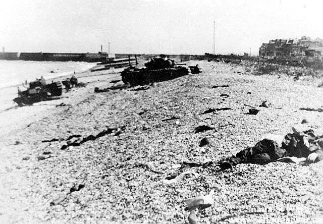 Dieppe Raid WWII The Dieppe Raid Canada at War