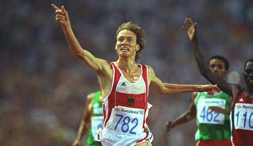 Dieter Baumann Olympic Moments Barcelona 1992 Dieter Baumann von der