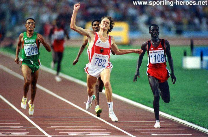Dieter Baumann Dieter Baumann Olympic 5000m silver then Gold Germany