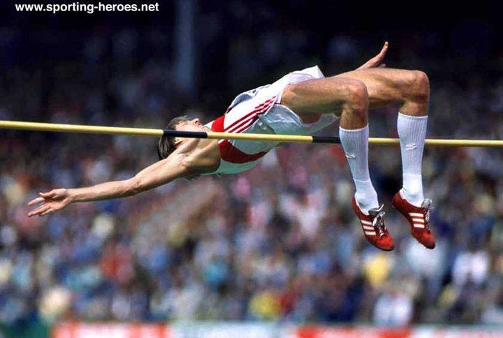 Dietmar Mögenburg Dietmar MOGENBURG Olympic Games amp European high jump Champion