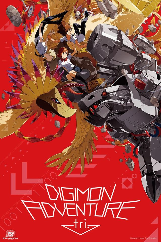 Digimon Adventure tri. Crunchyroll Digimon Adventure tri Full episodes streaming online