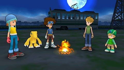 Digimon Adventure (video game) Digimon Adventure PSP GBAtempnet gt The Independent Video Game