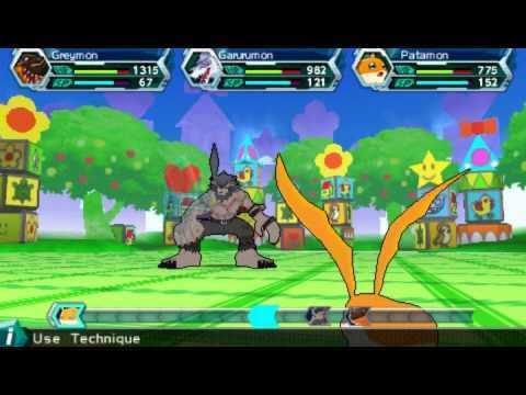 Digimon Adventure (video game) Digimon Adventure PSP ENGLISH PATCH vs BlackLeomonwmv YouTube