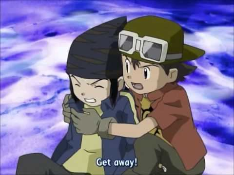 Digimon Frontier movie scenes Digimon Frontier IceDevimon Fight Scene