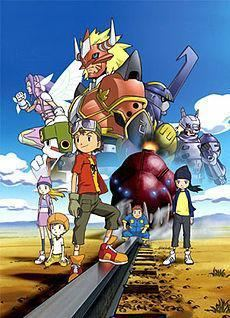 Digimon Frontier movie poster