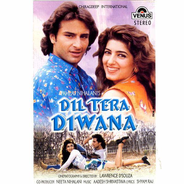 Dil Tera Diwana 1996 Movie Mp3 Songs Bollywood Music