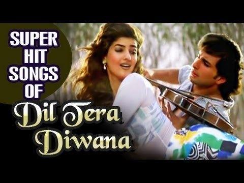 Dil Tera Deewana 1996 HIndi Movie All Songs Collection Saif