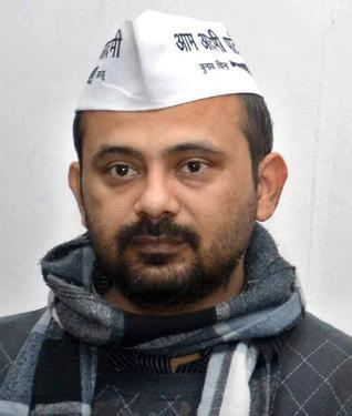 Dilip Pandey Dilip Pandey says that AAP MLAs are booked under a 39conspiracy39 AAP