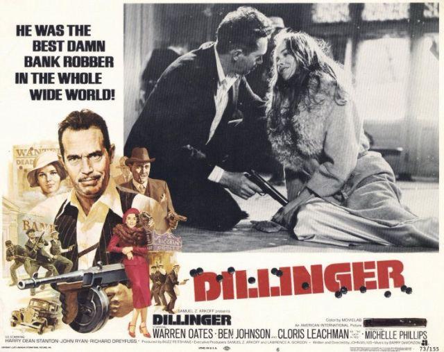 Dillinger (1973 film) Dillinger 1973 John Milius Twenty Four Frames