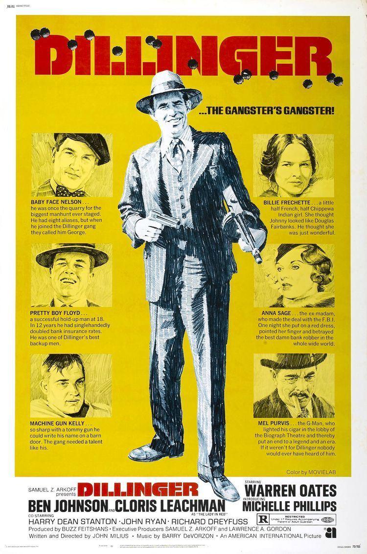 Dillinger (1973 film) Poster for Dillinger 1973 USA Wrong Side of the Art